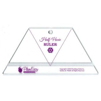Half Hexie Ruler