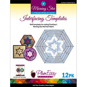 Morning Star Interfacing Template - 12pk