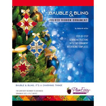Bauble & Bling - Folded Ribbon Ornament Pattern