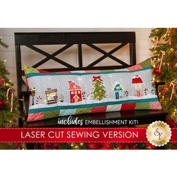 Candy Cane Lane Bench Pillow Kit - Sewing Version - RESERVE