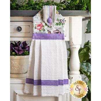 Hanging Towel Kit - Scented Garden - Stamp