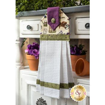Hanging Towel Kit - Violet Hill - Cream Garden