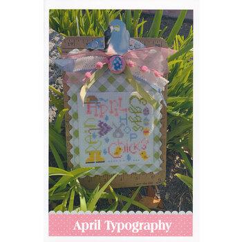April Typography Pattern