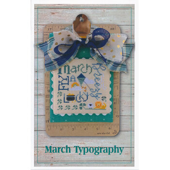 March Typography Pattern