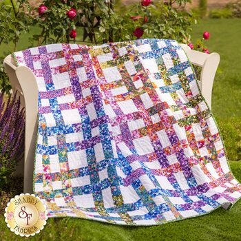 Basket Case Quilt Kit - Painterly Petals