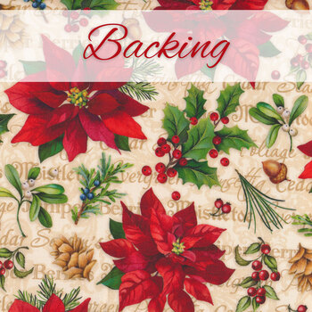 Old Time Christmas Patchwork BOM - Backing - 4yds - RESERVE