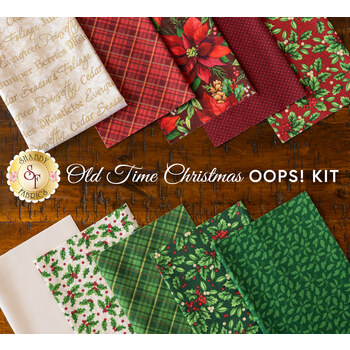 Old Time Christmas Patchwork BOM - Oops Kit - RESERVE