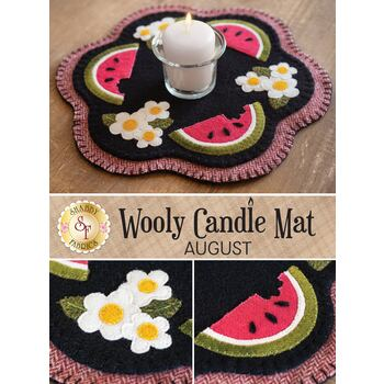 Wooly Candle Mat - August - Wool Kit