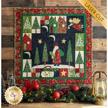 Santa Claus Lane Wall Hanging Kit - Old Time Christmas - Laser Cut - RESERVE