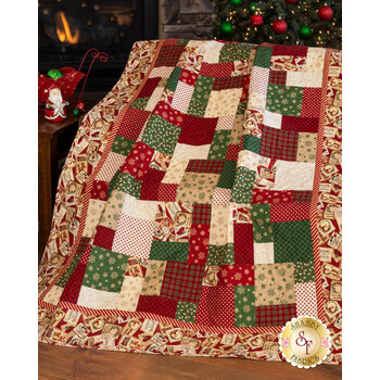 Easy As ABC and 123 Quilt Kit - Postcard Holiday