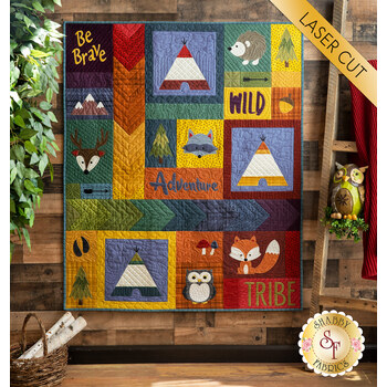 Adventure With My Tribe Quilt Kit - RESERVE
