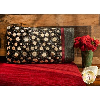 Magic Pillowcase Kit - Farmhouse Christmas - Standard Size - Black