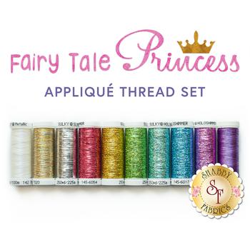 Fairy Tale Princess Quilt Kit - 10pc Thread Set - RESERVE