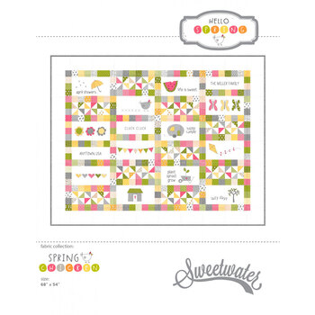 Hello Spring Pattern - Sweetwater