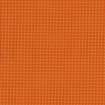 Blushed Houndstooth 7564-39 Orange by Cheryl Haynes for Benartex