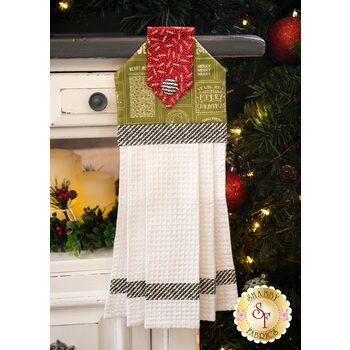 Hanging Towel Kit - The Christmas Card - Green