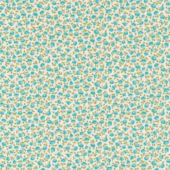 Pocketful of Posies 33547-21 Sky by Chloe's Closet for Moda Fabrics