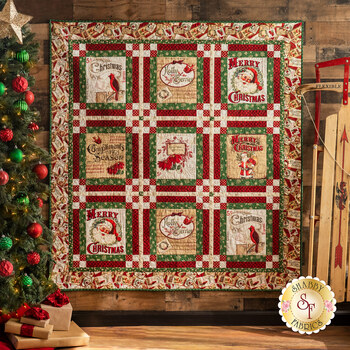Postcard Holiday Quilt Kit