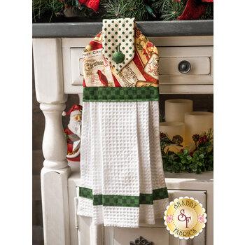 Hanging Towel Kit - Postcard Holiday - Green