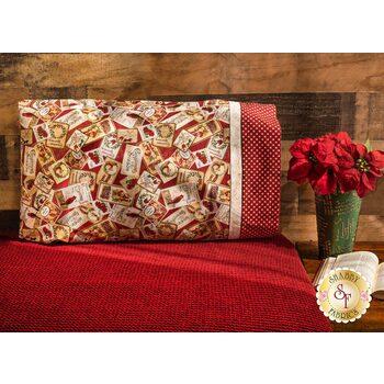 Magic Pillowcase Kit - Postcard Holiday - Standard Size