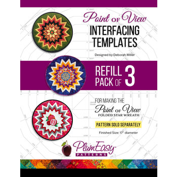 Point of View Interfacing Template Refill - 3pk