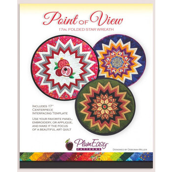 Point of View Folded Star Wreath Pattern