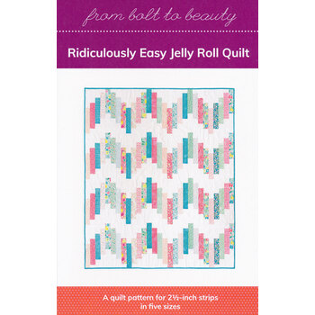 Ridiculously Easy Jelly Roll Quilt Pattern