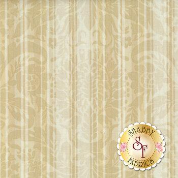 Burgundy & Blush 9365-T Vintage Damask Stripe from Maywood Studio REM
