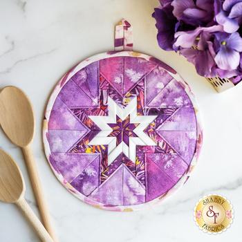 Folded Star Hot Pad Kit - Sunshine Soul - Purple