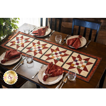 Sawtooth 16-Patch Table Runner Kit - Blessings of Home