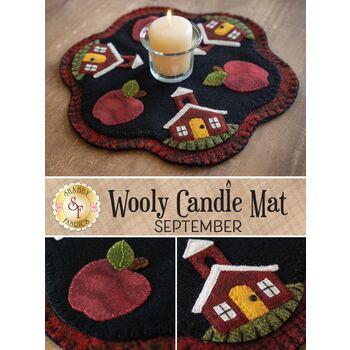 Wooly Candle Mat - September - Wool Kit