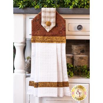 Hanging Towel Kit - Blessings of Home - Brown