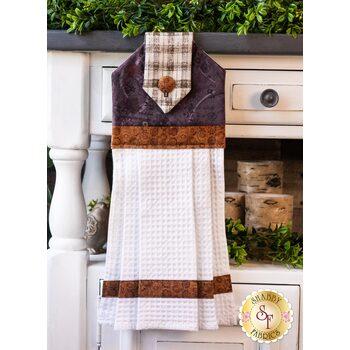 Hanging Towel Kit - Blessings of Home - Purple