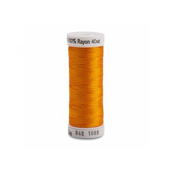 Sulky 40 wt Rayon Thread #1065 Orange Yellow - 250 yds