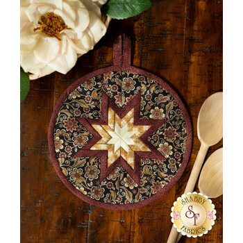 Folded Star Hot Pad Kit - Quilter Barn Prints - Floral