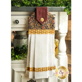 Hanging Towel Kit - Quilter Barn Prints - Floral
