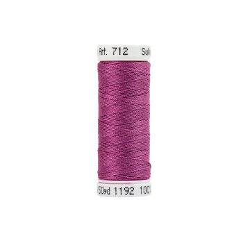 Sulky 12 wt Cotton Petites Thread #1192 Fuchsia - 50 yds