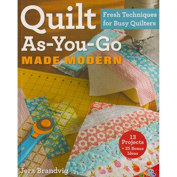 Quilt-As-You-Go Made Modern Book