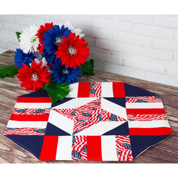 Easy Patriotic Table Topper Pattern