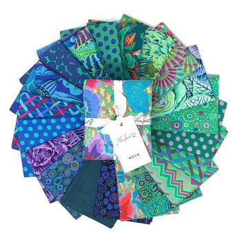 Kaffe Fassett Collective Classics  20 FQ Set - Ocean by Free Spirit Fabrics