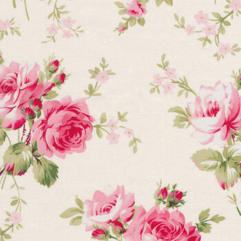 Barefoot Roses TW02-Cream by Tanya Whelan