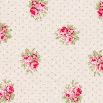 Barefoot Roses TW03-Cream by Tanya Whelan