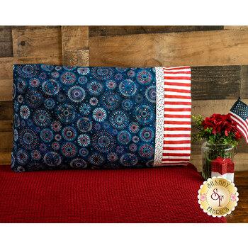 Magic Pillowcase Kit - Land That I Love - Standard Size - Fireworks