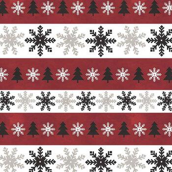 Hello Winter Flannel F11942-RED by Riley Blake Designs