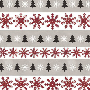 Hello Winter Flannel F11942-TAUPE by Riley Blake Designs