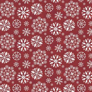 Hello Winter Flannel F11943-RED by Riley Blake Designs