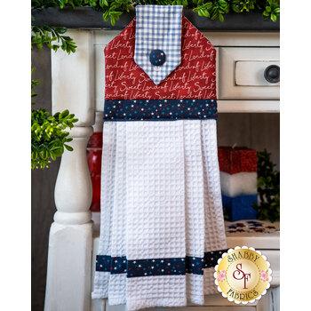 Hanging Towel Kit - Land that I Love - Red