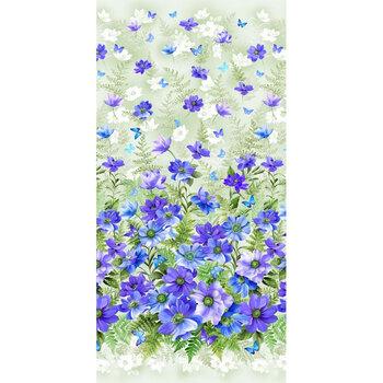 Floral Fantasy 10228-BLUE-D by Michael Miller Fabrics