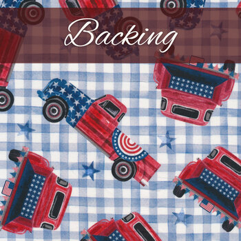 Easy as ABC and 123 Quilt Kit - Land That I Love - Backing – 3-3/4 yds – RESERVE