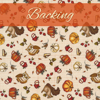 Hello Fall - Quilt Kit - Backing - 3-1/2 yds